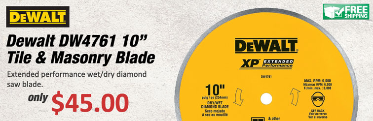 Dewalt Diamond Blade