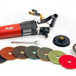 MWI Flex LW 1503 Wet Polishing Bullnose Kit