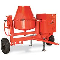 Concrete, Cement & Mortar Mixers