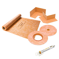 Shower Pan Liners, Sealants, & Membranes