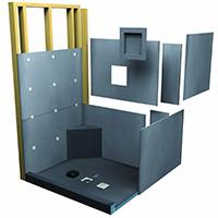 Shower Pans, Kits, & Building Boards
