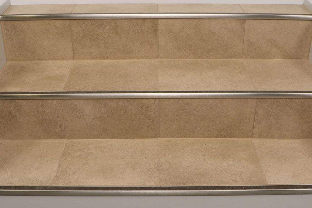 Schluter Trep Gk S Tiled Stair Profiles