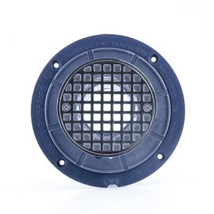 Noble PVC Round Stainless Steel Drain #391