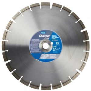 Norton Charger Dry - Green Concrete 20 hp Diamond Blade 12''