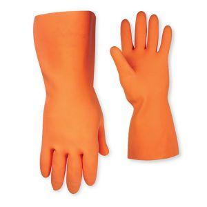 CLC Orange Heavy Duty Large Rubber Glove 2308