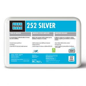Laticrete 252 Silver Thin-set Mortar - 50 lb bag