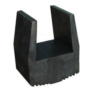 Abaco Black Rubber Slab Guard 30 cm