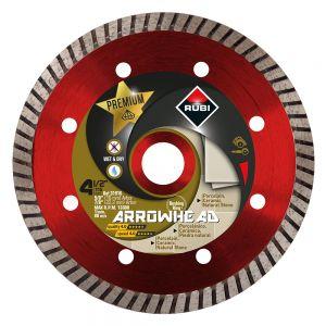 Rubi Tools 31916 Arrowhead Dry Premium Diamond Blade - 4 1/2