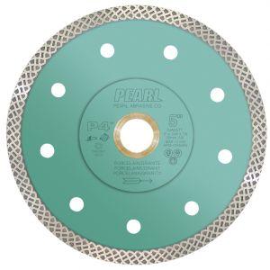 Pearl Abrasive P4 Thin Turbo Mesh Diamond Blade - 5