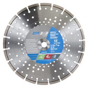 Norton 3x3 Multi-Purpose Concrete Diamond Blade