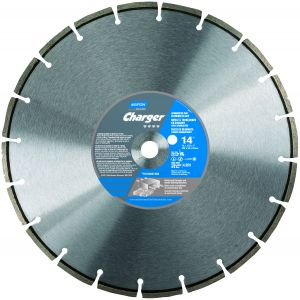 Norton Charger Cured Concrete & Hard Aggregates Supreme Blade 14