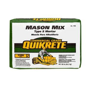 Quikrete Mason Mix Type S Mortar