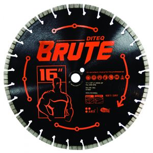 Diteq Brute Concrete and Masonry Blade - 16