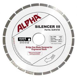 Alpha Silencer III Blade - Engineered Stone 14