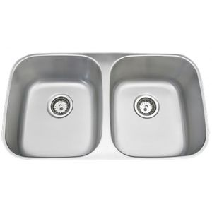 Amerisink Economy Undermount Stainless Steel Sink AS114 32