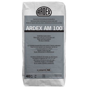 Ardex AM 100 Pre-Tile Ramping and Smoothing Mortar