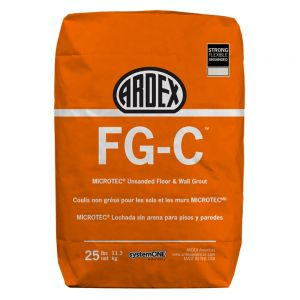 Ardex FG-C MICROTEC Unsanded Grout - 10Lb