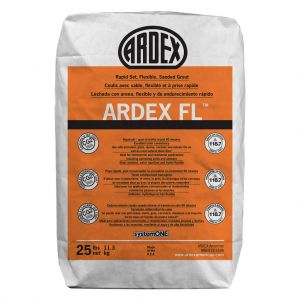 Ardex FL Grout - Rapid Set, Flexible, Sanded Grout