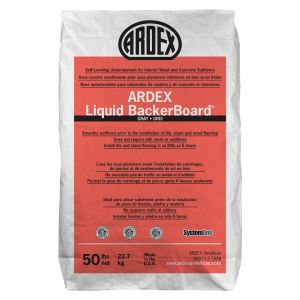 Ardex Liquid BackerBoard Self-Leveling Underlayment