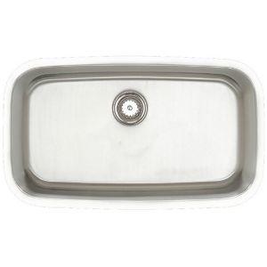 Amerisink Deluxe Undermount Stainless Steel Sink AS112 31.5