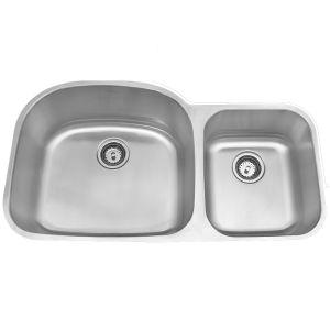 Amerisink Deluxe Undermount Stainless Steel Sink AS104 37.5