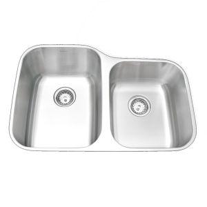 Amerisink Deluxe Undermount Stainless Steel Sink AS108 31