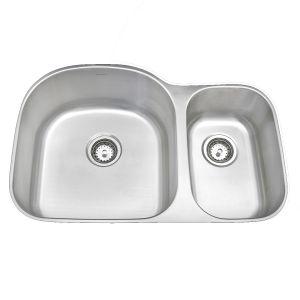 Amerisink Economy Undermount Stainless Steel Sink AS117 32