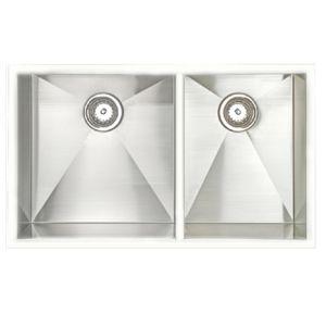 Amerisink Legend AS303 Stainless Steel Sink 33″ x 19″ x 10″/10″