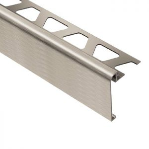 Schluter RONDEC-STEP in Brushed Nickel (ATGB)