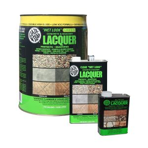 Glaze n' Seal Wet Look Green Concrete and Masonry Lacquer