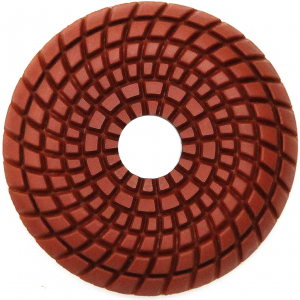 RockMaster Convex Wet Resin Polishing Pads - 3