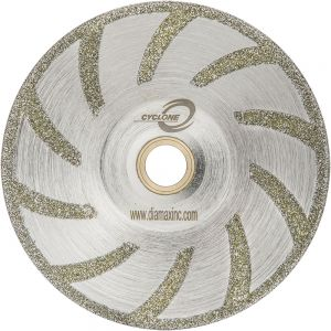 Diamax Cyclone Electroplated Marble Contour Blade - 5