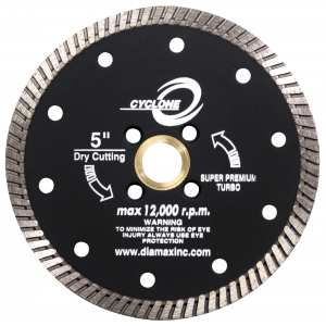 Diamax Cyclone Granite Turbo Diamond Blade