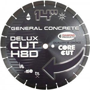 Diamond Products Delux Cut H8D General Concrete Segmented Diamond Blade