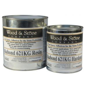 Axson Wood & Stone 621-KG Gel Knife Grade Clear Epoxy - 3 Quart