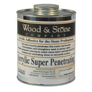 Axson Wood & Stone Acrylic Super Penetrating Adhesive - Quart