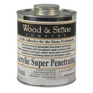 Axson Wood & Stone Acrylic Super Penetrating Adhesive & Filler - Quart