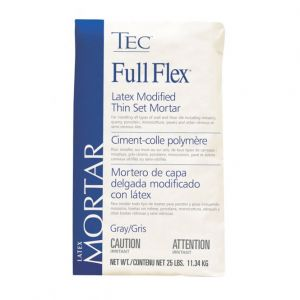 Tec Full Flex Premium Latex Modified Thinset Mortar