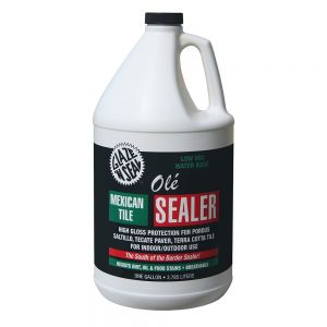Glaze N Seal Ole Mexican Tile Sealer - 1 Gallon- (163)