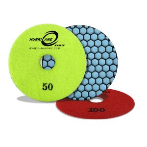 Diamax Hurricane Dry Polishing Pads - 4