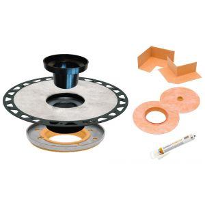 Schluter KERDI-DRAIN-A Adaptor Flange Kit ABS5-1/4