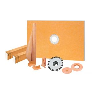 Schluter KERDI-SHOWER-KIT-FL with ABC Flange 2