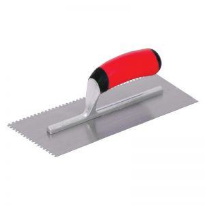 Marshalltown v notch trowel - 1/2