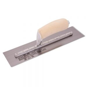 Marshalltown Professional Finishing Trowels w/Curved Wood Handle
