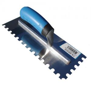Master Wholesale U-Notch Stainless Steel Trowel w/ Comfort Grip Handle
