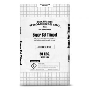 Master Wholesale Super Set Medium Bed Mortar - 50 lb Bag