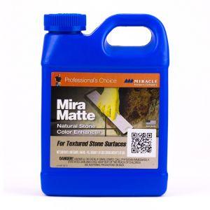 Miracle Sealants Mira Matte Natural Stone Enhancer - Quart
