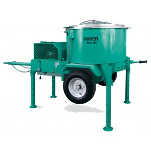 Imer Mix 360 Plus (Mortarman) Vertical Shaft Towable Mixer