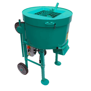 Imer Mix 120 Plus (Mortarman 120 Plus) Vertical Shaft Mortar / Cement Mixer - Featuring New iDust Grate