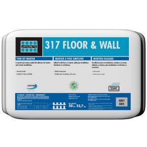 Laticrete 317 Floor & Wall Thinset Mortar - Grey